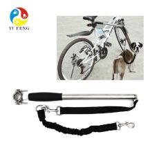 Melhor Mão Livre Coleira de Exercício de Bicicleta de Cão com força de tração de 550 lbs Paracord Leash Grau Militar para Caminhadas ao Ar Livre e Trem