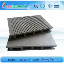 Anti-rachadura, antienvelhecimento, assoalho de bambu composto plástico de madeira composto da varanda do Anti-fungo