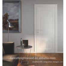 Interior mdf craftsman two panel door with special lockset