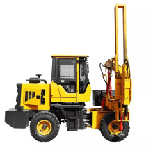HWH920 Hydraulic press excavator mounted post pile driver