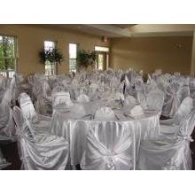 самостоятельно связали атласная стул крышка / самостоятельной отварной копченой свиней Кафедра прикрытие для свадьбы banquet отель
