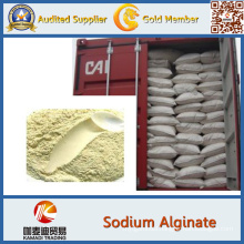 Sodium Alginate for Food Additive, Domestic, Printing, Dyeing, Textile,