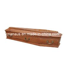 Euro Style caixão de madeira