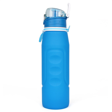 Sport Water Bottle Portable | Silicone de qualité alimentaire