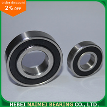 Radial Ball Bearing Both Sides Rubber Sealed 6004-2RS