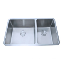 small radius R25 stainless steel kitchen sink