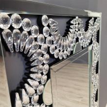 Rectangular shape MDF Hanging Mirror Glass Mirror