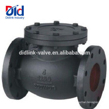 Tuyau hydraulique de PVC de 3 pouces application silencieuse du clapet anti-retour d'ansi d'Ansi de fonte 10