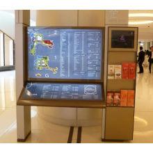 Das Mall, das LED-Verzeichnis-Pylon Signage des Edelstahl-LED steht
