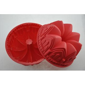 Desain Unik Red Crown Silicone Baking Pan