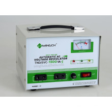 Tnd/SVC-1.5k Single Phase Series Fully Automatic AC Voltage Regulator
