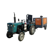 Air Compressor Tractor Mounted And Crawler Water Well Drilling Rig Machine For Sale
