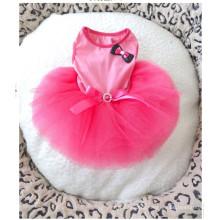 Nova Alta Moda Dog Princess Dress Wind Pink Pet Roupas De Casamento De Pet Dog Dress