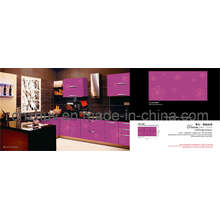 American Style Intergral Cabinet With UV Color Painting Panel and Kitchen Door Panel and Soliding Door and Melarmine MDF Faced Panel (ZH-C854)