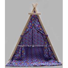 Tenda impressa de alta qualidade com forma de triângulo