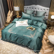 Discount Good Quality Modern Style with Logo Bed Sheet Set 4 PCS