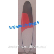2015 краска спрей для серфинга для продажи лонгборд симпатичный дизайн сыра доска 10'