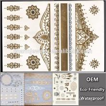 OEM Wholesale Symmetry tattoo tatouage temporaire dernières marques tattoo Sticker pour adultes f8