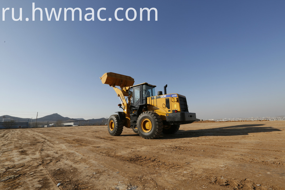 SEM653 5 Ton Wheel Loader