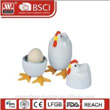 """5"""" пластиковые Микроволновая печь яйца плита"""