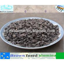 abrasivos y grano de alúmina fundida marrón re-estructurado