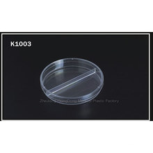 CE and FDA Certificated High Quality 90*15mm Two-Compart Petri Dish