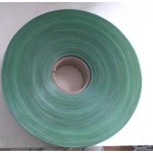 A árvore de Natal deixa a película do PVC, película rígida do PVC, película verde do PVC, folha do PVC