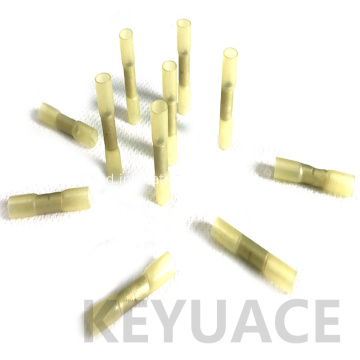 Kuning Waterproof Insulated Heat Shrink Butt Wire Connectors
