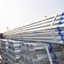 astm a134 galvanized round steel pipe