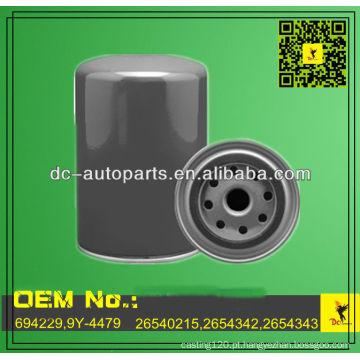 Qualidade OEM 694229,9Y-4479,26540215,2654342 Filtro de óleo do motor para construção e equipamento agrícola
