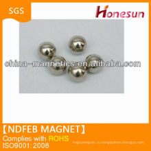 neodymium magnet ball shape N35 D5 mm without MOQ in alibaba china for sale
