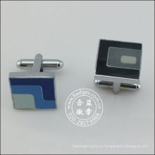 Пользовательские Сердце Позолоченные Кнопка, Мода Cufflink (GZHY-KA-098)