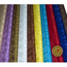 Gros Tissu Coton Bazin Riche Alibaba Chine Brocade Africain Vêtements Tissu