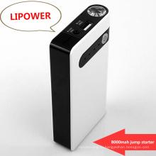 Ultimate 8000 мАч Автомобиль Jump Starter Power Bank с фонариком