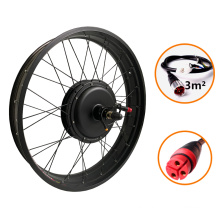 Controller intergrated with motor 48v 1000w waterproof Fat Tire Electric Bike Conversion Kit