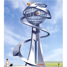 Modern Large outdoor 304# Metal Sculpture for sale