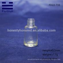 La botella de clavo vacía de lujo al por mayor / el diseño de cristal de la botella del pulimento de clavo de la venta con buena calidad