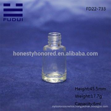 Wholesale fancy empty nail polish bottle/glass nail polish bottle design with good quality