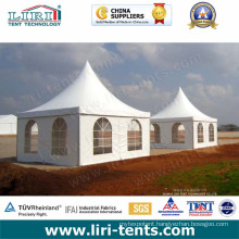 High Quality Outdoor Pagoda Tents with PVC Window Sidewalls