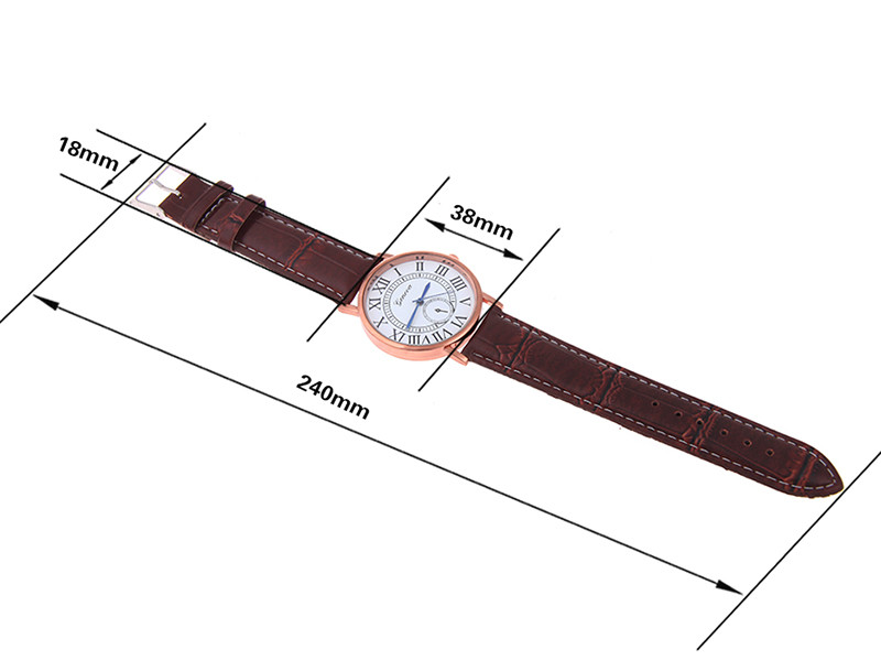 MEN business leather watches