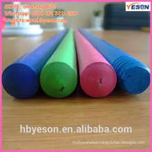 colorful wooden handle/colorful wooden toy handle/wood mop handle