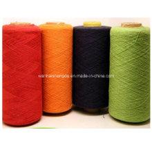 Fios de algodão fantasia para tricô cachecol