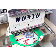 Single Head Tubular Embroidery Machine with Good Price