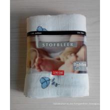 Pañal 100% de impresión de bebé de algodón (BC-BD1006)