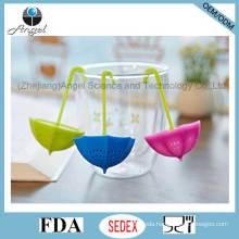 Popular Umbrella Silicone Tea Tool Gift Tea Bag St10