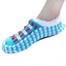 Пользовательские сделал Anti-Slip трикотажные Крытый обувь Этаж носки