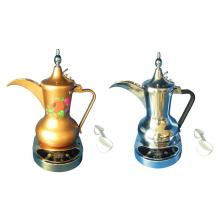 Cafetière électrique arabe en acier inoxydable