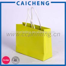 пользовательские бумажный мешок для покупок