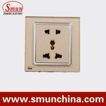 5 polos de enchufe de pared, 3 polos, 2 polos, interruptor de pared