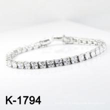 O micro da prata da forma pavimenta o bracelete da jóia da CZ (K-1794. JPG)